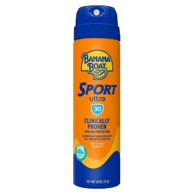 Banana Boat Ultra Sport Clear Sunscreen Spray