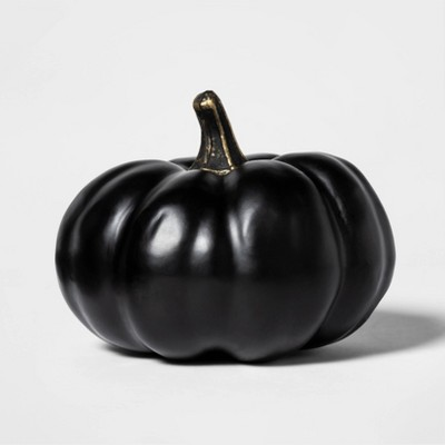 Painted Halloween Pumpkin Mini Black   Hyde And Eek! Boutique by Hyde And Eek! Boutique