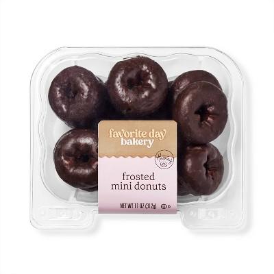 Chocolate Mini Donuts - 14oz - Favorite Day™