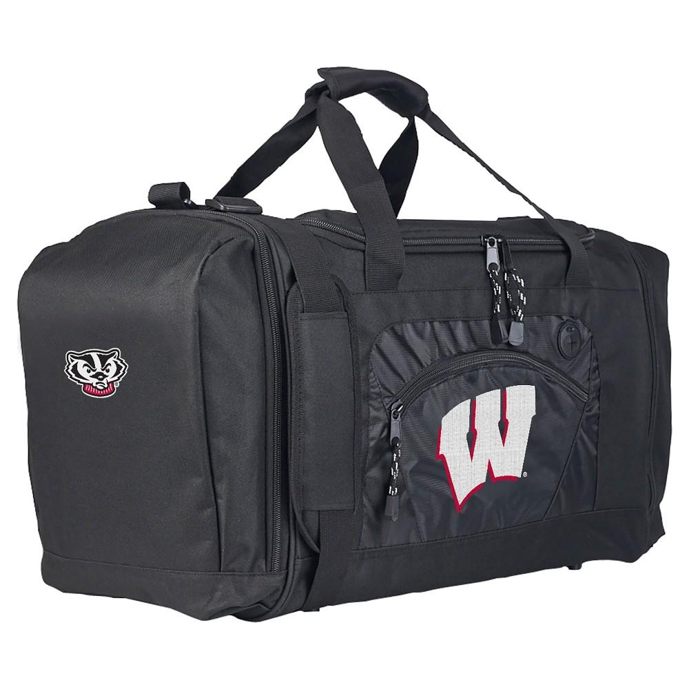 NCAA Northwest Roadblock Duffel Bag Wisconsin Badgers - 20x11.5