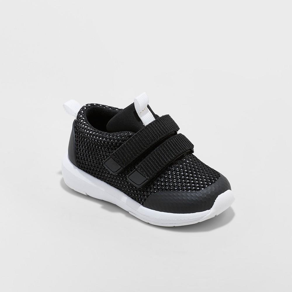 Toddler Boys' Mars Sneakers - Cat & Jack Black 12