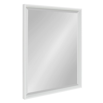 "24"" x 30"" Calter Framed Wall Mirror White - Kate and Laurel"