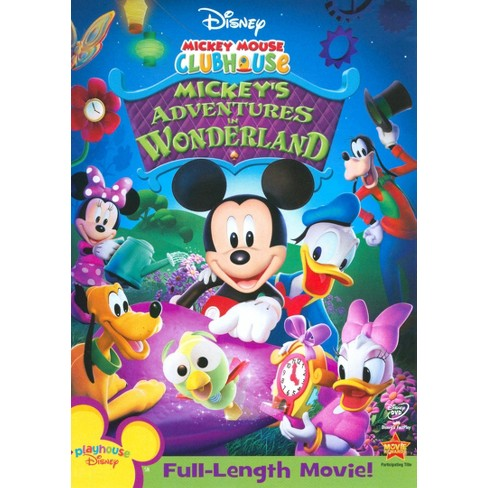Mickey Mouse Clubhouse: Mickey's Adventures in Wonderland (DVD) - image 1 of 1
