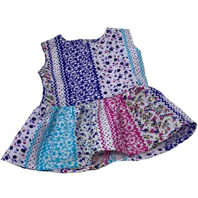 Doll Clothes Superstore Multi Flower Dress Fits 18 Inch Girl Dolls Like American Girl Our Generation My Life