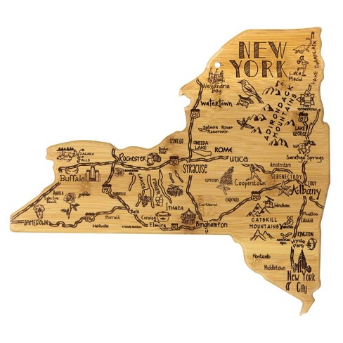 Totally Bamboo Destination New York Serving and Cutting Board - image 1 of 4