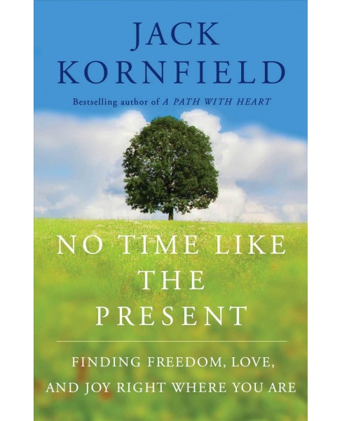 No Time Like the Present : Finding Freedom, Love, and Joy Right Where You Are -  (Hardcover) - image 1 of 1