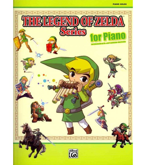 Legend of Zelda Series for Piano : Intermediate-Advanced Edition (Paperback) - image 1 of 1