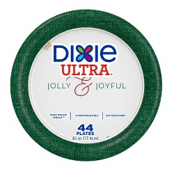 """Dixie Ultra Holiday Paper Plates 7"""" - 44ct"""