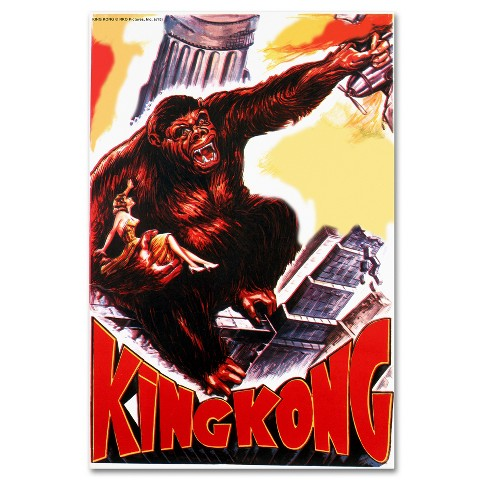 King Kong 4' by Lantern Press Ready to Hang Canvas Wall Art - image 1 of 3