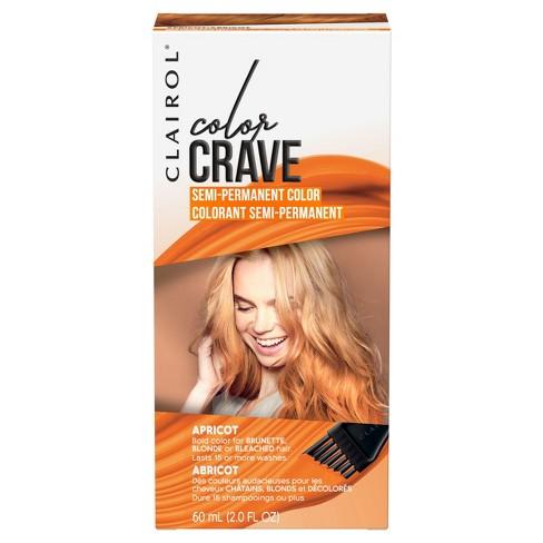 clairol color crave semi permanent apricot 2 0 fl oz target