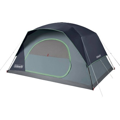 Coleman Skydome 8 Person Blue Nights Tent - Blue