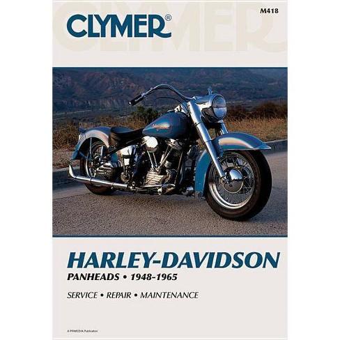 Clymer Harley-Davidson H-D Panheads 1948-1965 - (Clymer Motorcycle) (Paperback) - image 1 of 1