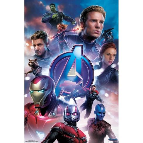 "34"" x 23"" Avengers: Endgame Group Unframed Wall Poster Print - Trends International - image 1 of 2"