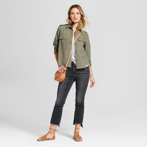 Women s Military Jacket - Universal Thread™ Olive   Target 490299ca4f