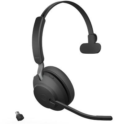 Jabra Evolve2 65 USB-C UC Mono - Black Wireless Headset / Music Headphones