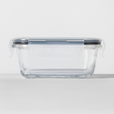 Rectangular Glass Food Storage Container 1.6 cup - Made By Design™