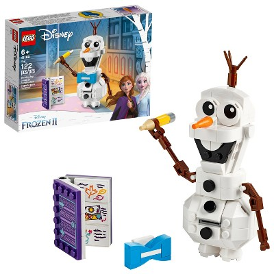 LEGO Disney Frozen 2 Olaf Olaf Snowman Toy Figure Building Kit 41169