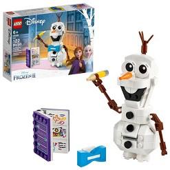 LEGO Disney Frozen 2 Olaf 41169 Olaf Snowman Toy Figure Building Kit 122pc