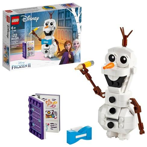 LEGO Disney Frozen 2 Olaf 41169 Olaf Snowman Toy Figure Building Kit 122pc - image 1 of 4