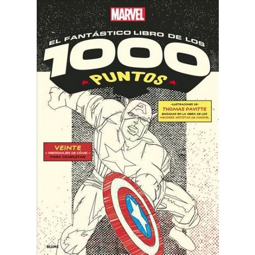 Marvel el fantástico / Marvel the Amazing : Libro De Los 1000 Puntos / 1000 Dot-to-dot Book - Tra