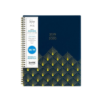 """2019 2020 Academic Planner 9""""X 11"""" Navy   May Designs For Blue Sky by 2020 Academic Planner 9""""X 11"""" Navy"""