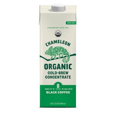 Chameleon Organic Cold Brew Coffee Concentrate - 32 fl oz