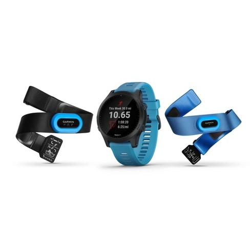 Garmin Forerunner 945 GPS Running Smartwatch Bundle - Blue - image 1 of 4