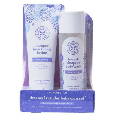 The Honest Company Lavender Shampoo & Lotion Bundle