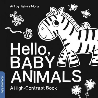 Hello, Baby Animals - by Duopress (Board_book)