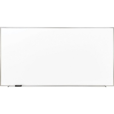 Ghent Non-Magnetic Whiteboard with Aluminum Frame 4'H x 12'W M24124