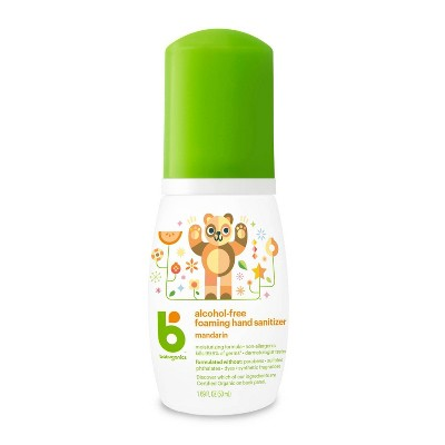 Babyganics Hand Sanitizer Mandarin - 1.69 fl oz/6pk