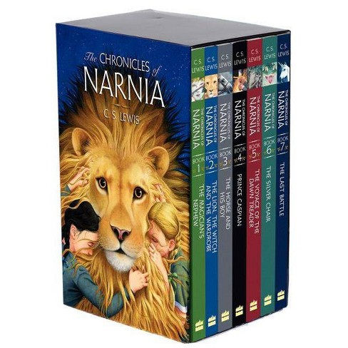 The Chronicles of Narnia Box Set - by  C S Lewis (Paperback) - image 1 of 1
