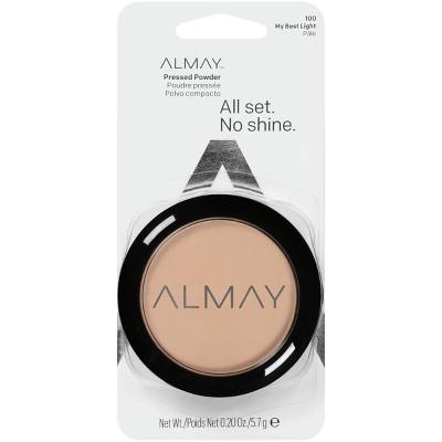 Almay All Set No Shine Pressed Powder - 0.20oz