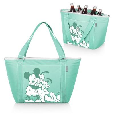 Picnic Time Disney Mickey and Pluto Topanga Tote Cooler Bag - Teal