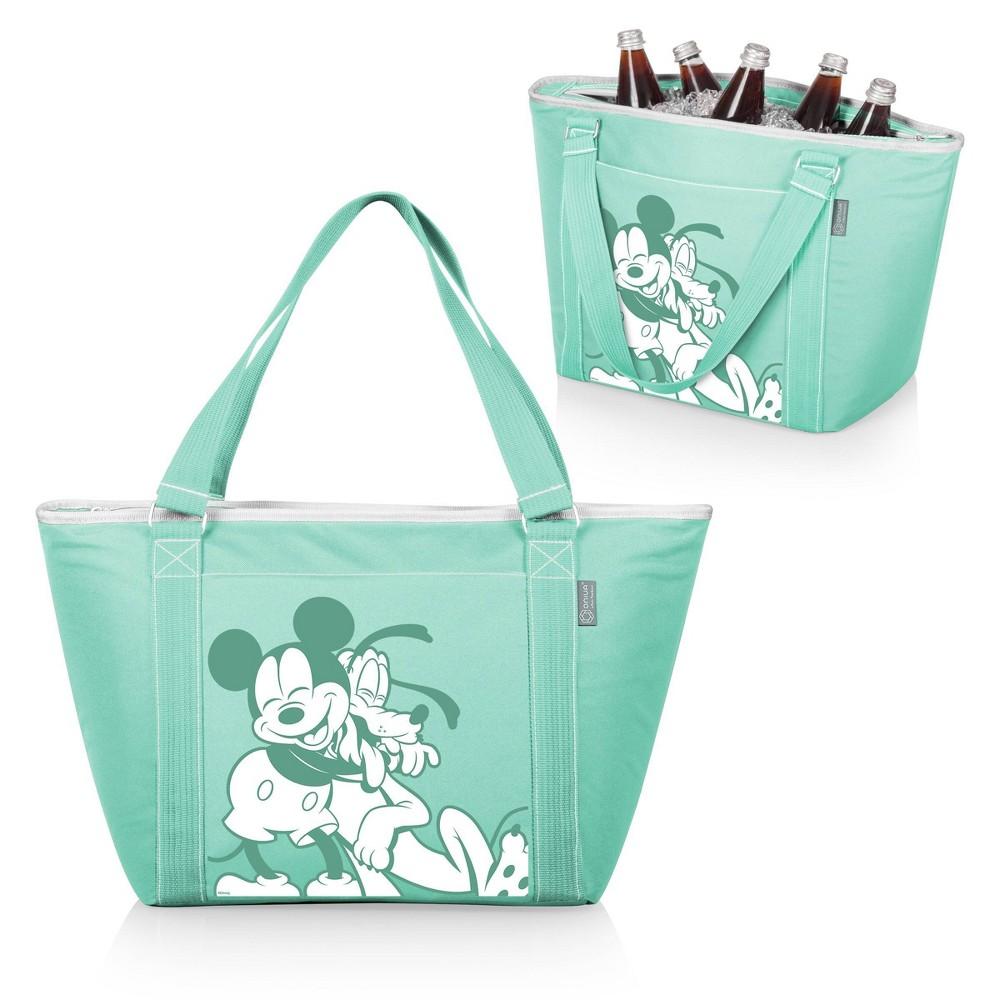 Picnic Time Disney Mickey And Pluto Topanga Tote Cooler Bag Teal