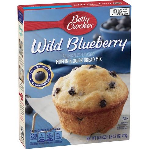 Betty Crocker Blueberry Muffin Mix -16.9oz - image 1 of 4