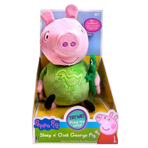Peppa Pig - Slumber n' Oink George Plush - image 1 of 2