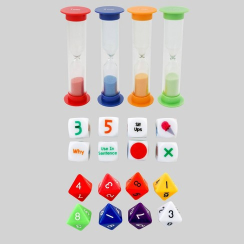 20pc Activity Dice and Timers Game - Bullseye's Playground™ - image 1 of 1