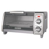 Deals on BLACK+DECKER 4 Slice Toaster Oven Stainless Steel TO1700SG
