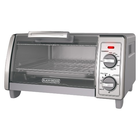 BLACK+DECKER 4 Slice Toaster Oven Stainless Steel TO1700SG - image 1 of 4
