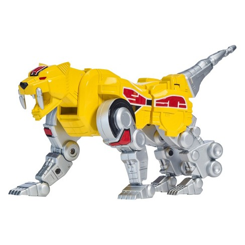 The Loyal Subjects Power Rangers Metallic Sabretooth Zord excellent shape!