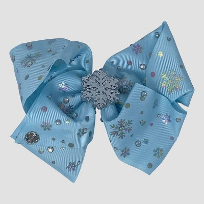 Girls' JoJo Siwa Snowflake Bow Hair Clip - Blue