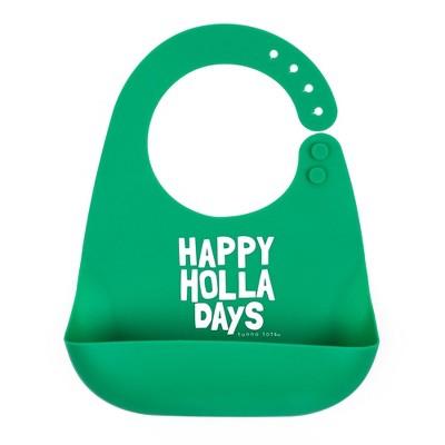 Tunno Tots Silicone Bib - Hppy Holla Days