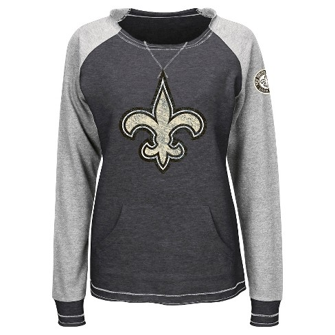 promo code 8ee48 e679f New Orleans Saints Women's Activewear Sweatshirt L