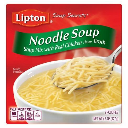 Lipton Soup Secrets Soup Mix Noodle 4.5 oz - image 1 of 4