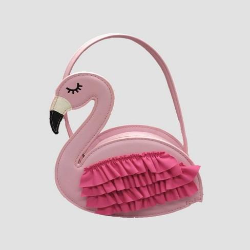 Girls' Flamingo Wristlet - Cat & Jack™ Pink - image 1 of 2