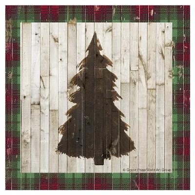 Thirstystone Rustic Christmas Coasters Set of 4 - Rustic Tree