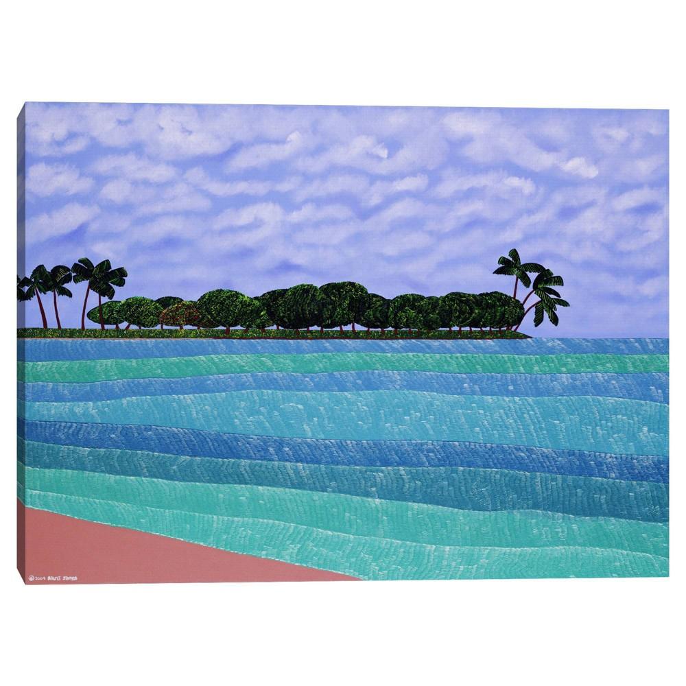 30 34 X 40 34 Magic Island By Synthia Saint James Canvas Art Print Masterpiece Art Gallery