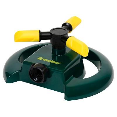 Adjustable Revolving Sprinkler - Green - Melnor