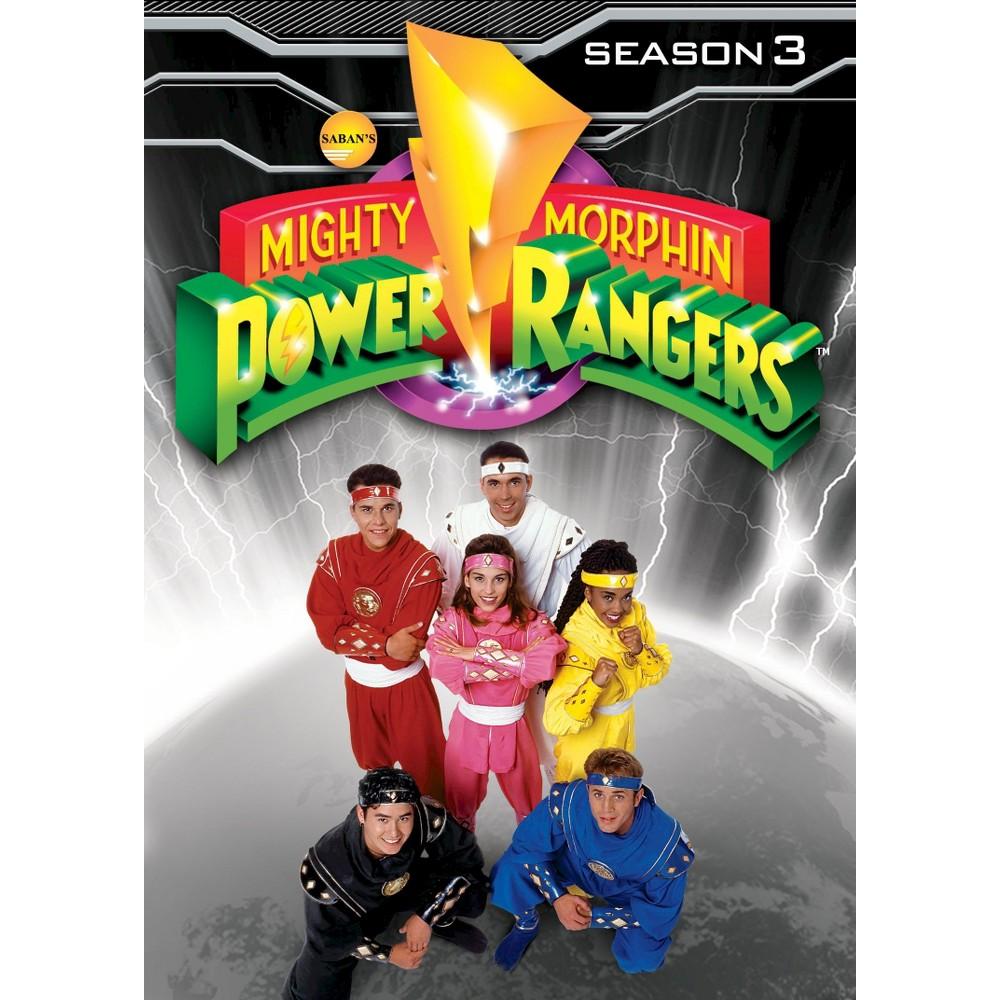 Mighty Morphin Power Rangers Season 3 Dvd